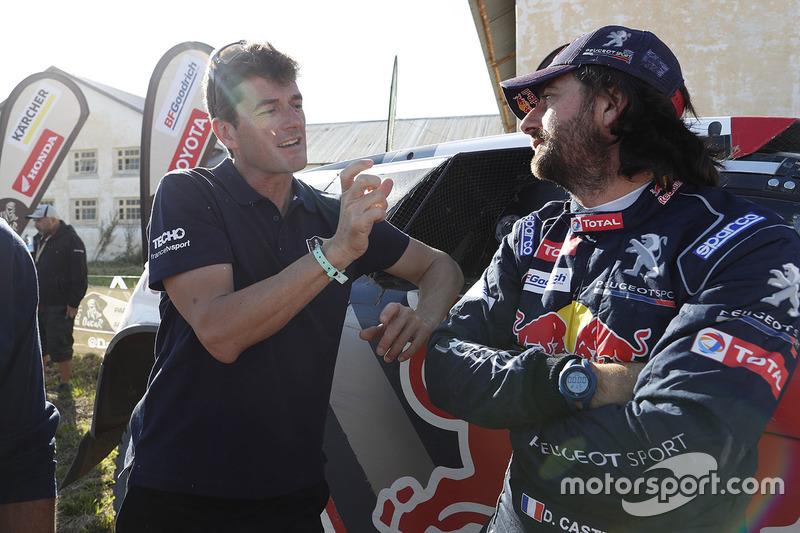 David Castera, Peugeot Sport con Marc Coma, Dakar sporting director