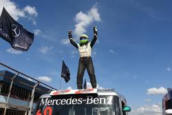 Festa do piloto Wellington Cirino, o único tetracampeão da Fórmula Truck