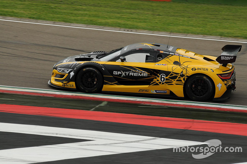 #6 V8 Racing Renault RS01: Josh Webster, Carmen Jorda