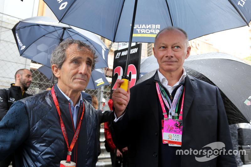 Alain Prost, Renault Sport F1 Team