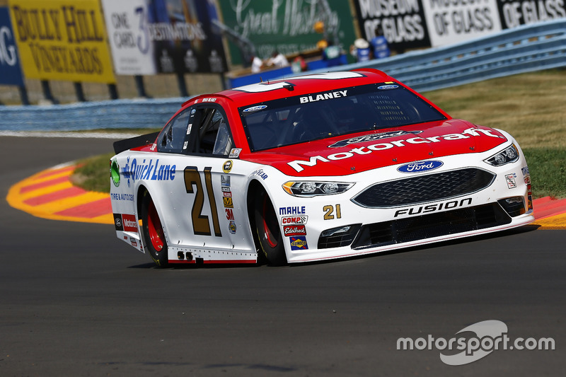 19. Ryan Blaney, Wood Brothers Racing, Ford