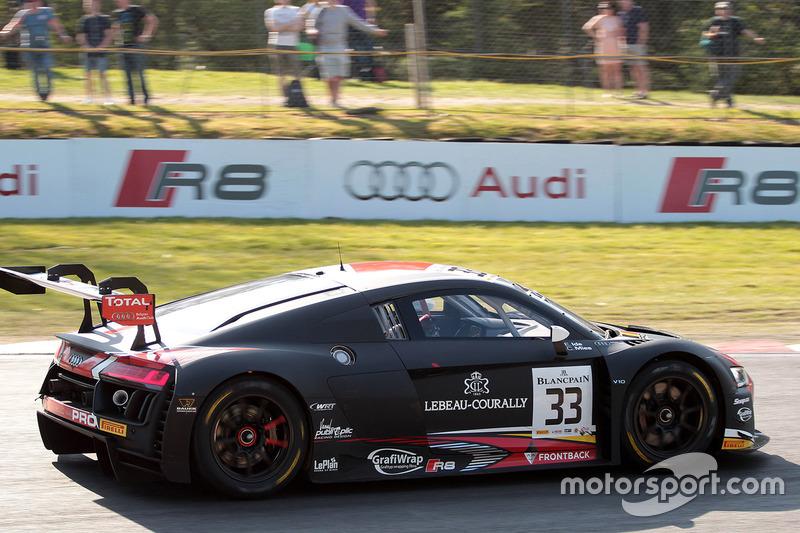 Blancpain Sprint: Belgian Audi Club Team WRT, Audi R8 LMS ultra