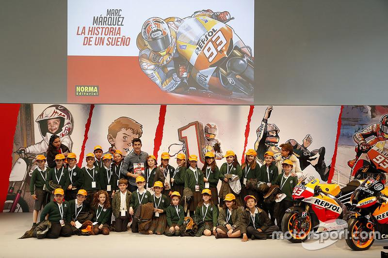 Presentación cómic de Marc Márquez