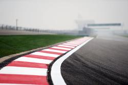Detalle del circuito internacional de Shanghai