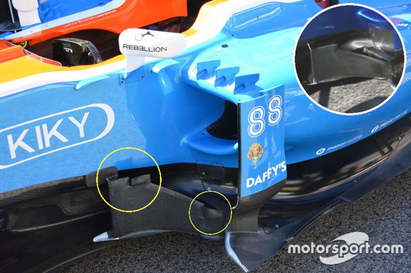 Manor Racing: Seitliche Windabweiser