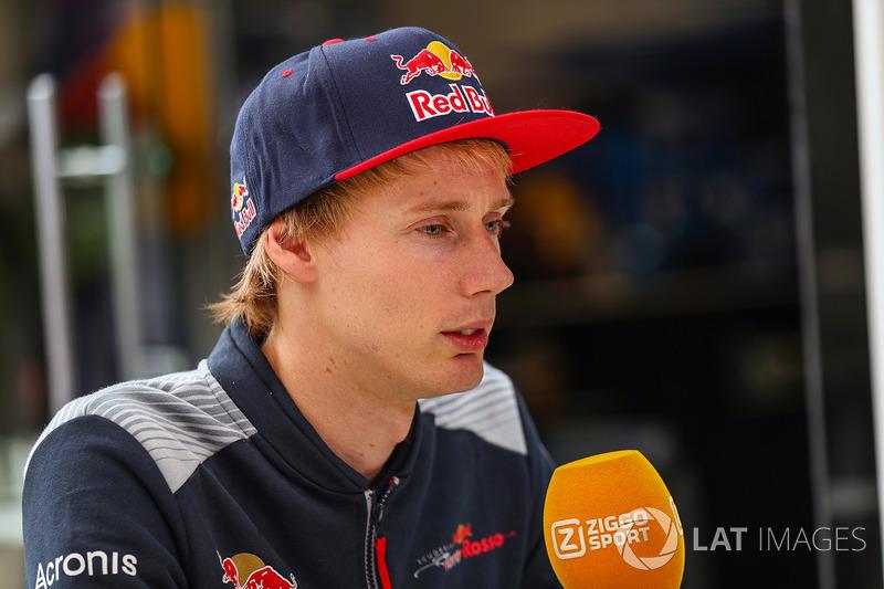 Brendon Hartley, Scuderia Toro Rosso con los medios
