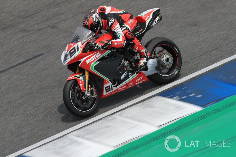 Jordi Torres, MV Agusta Reparto Corse