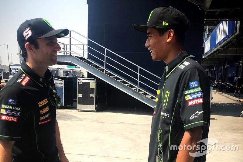 Johann Zarco dan Hafizh Syahrin, Monster Yamaha Tech 3