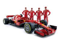 Sebastian Vettel, Ferrari, Kimi Raikkonen, Ferrari, Daniil Kvyat,  Antonio Giovinazzi, Ferrari