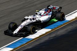 Sergey Sirotkin, Williams FW41, with aero paint