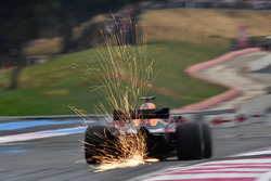 Daniel Ricciardo, Red Bull Racing RB14 sparks