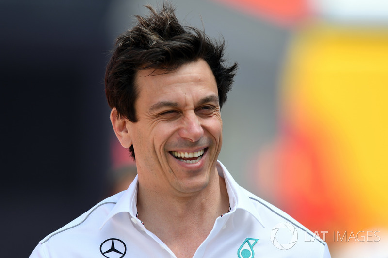 Toto Wolff, directeur de Mercedes AMG F1