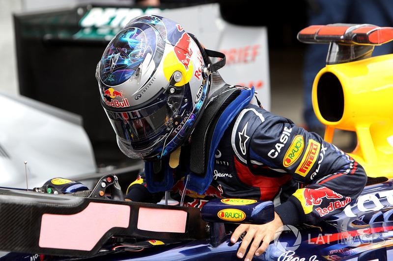 Pole de Sebastian Vettel, Red Bull Racing RB7