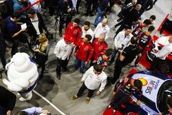 La temporada 2018 de WRC es presentada en el Autosport International Show. Con autos Hyundai, Citroe