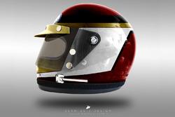 Pascal Wehrlein 1970's helmet concept