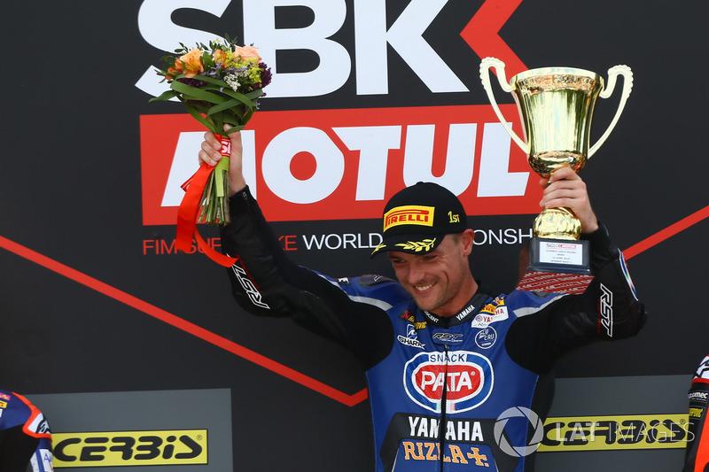 Le vainqueur : Alex Lowes, Pata Yamaha