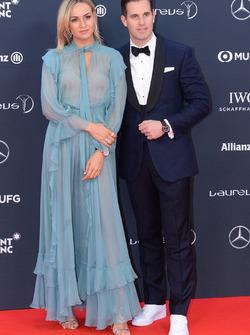 Carmen Jorda and Christoph Grainger-Herr, CEO of IWC Schaffhausen