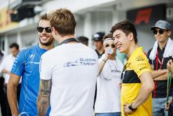Drivers parade, Luca Ghiotto, Campos Racing, Artem Markelov, RUSSIAN TIME, Jack Aitken, ART Grand Prix