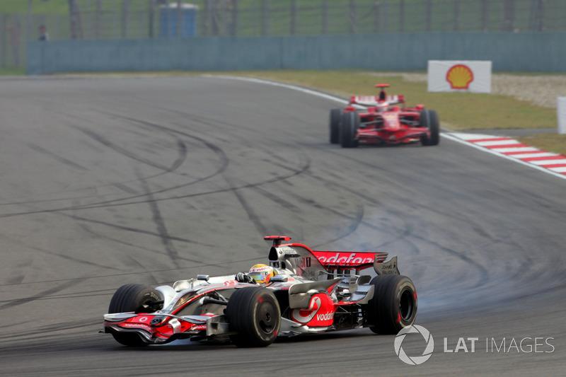2008. Переможець: Льюіс Хемілтон, McLaren