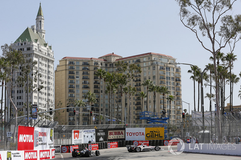 Suasana IndyCar Long Beach 2018