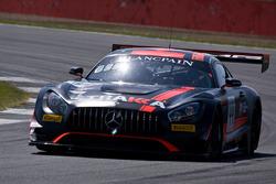#44 Strakka Racing Mercedes-AMG GT3: Adrien Tambay, Oliver Rowland, Thomas Jäger