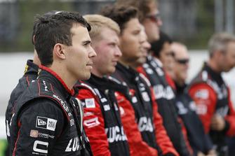Robert Wickens, Schmidt Peterson Motorsports Honda and crew