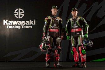 Jonathan Rea, Kawasaki Racing Team, Leon Haslam, Kawasaki Racing Team