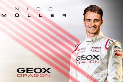 Annuncio Nico Müller Dragon Racing