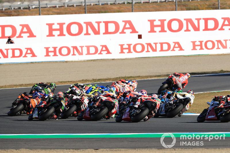 Andrea Dovizioso, Ducati Team lidera la carrera