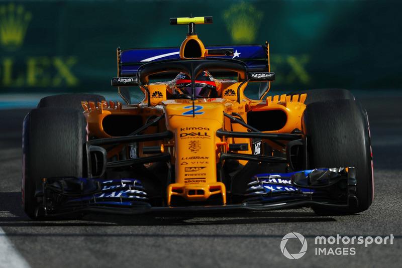 18: Stoffel Vandoorne, McLaren MCL33, 1'38.577