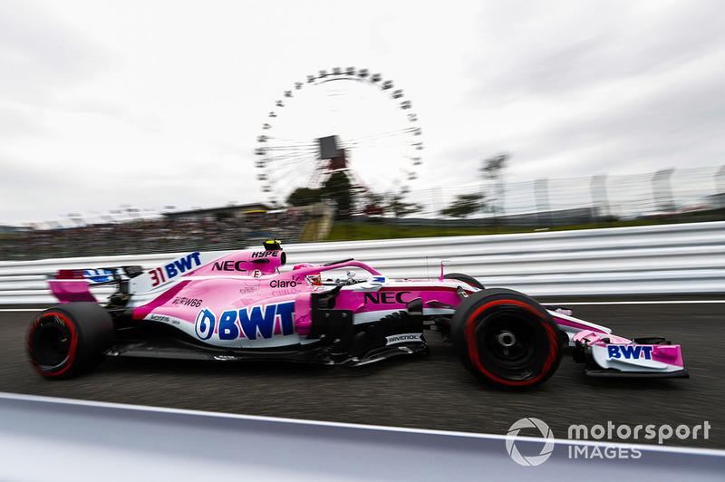 7. Esteban Ocon, Racing Point Force India VJM11