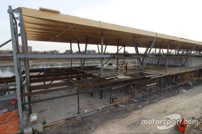 Montreal paddock renovatie