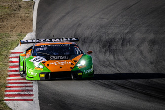 #63 GRT Grasser Racing Team Lamborghini Huracan GT3: Christian Engelhart, Mirko Bortolotti, Andrea Caldarelli