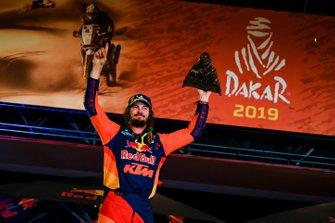 Podium: Red Bull KTM Factory Racing KTM: Toby Price