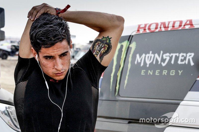 #10 Monster Energy Honda Team: José Ignacio Cornejo Florimo