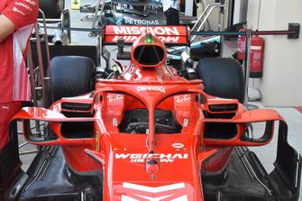 Ferrari SF71H, cockpit