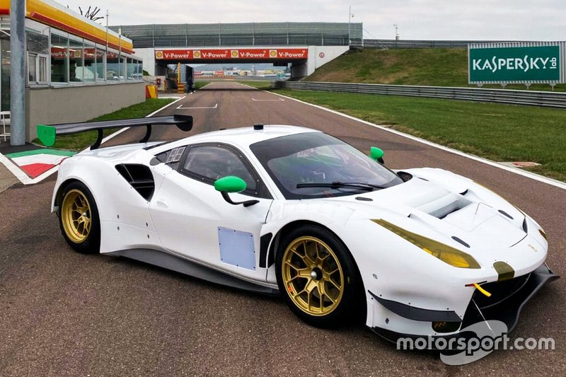 WeatherTech Racing araç tanıtımı