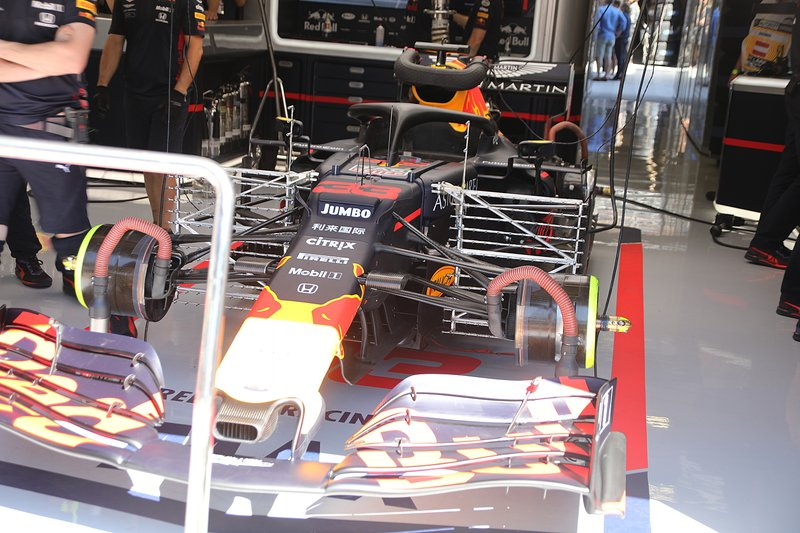 Red Bull Racing RB15, la nuova ala anteriore che ha debuttato in Austria