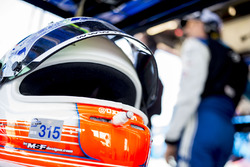 Helmet of Oswaldo Negri, Michael Shank Racing