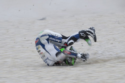 Eugene Laverty, Aspar MotoGP Team crash