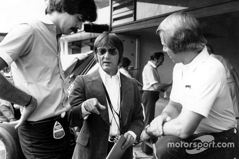 Bernie Ecclestone con Gordon Murray