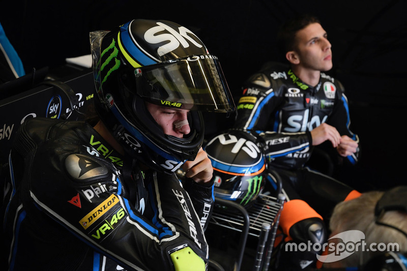 Nicolo Bulega, Sky Racing Team VR46; Andrea Migno, Sky Racing Team VR46
