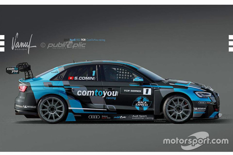 Neue Audi RS 3 LMS TCR von Stefano Comini