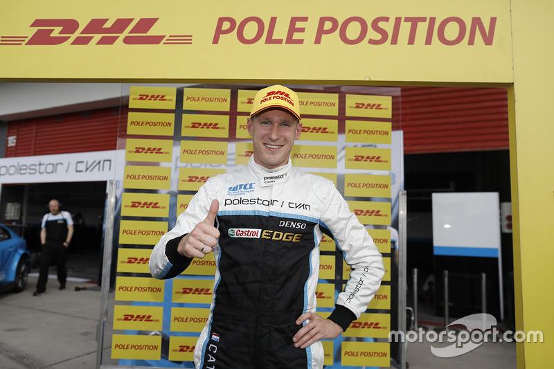 Нікі Катсбург, Polestar Cyan Racing, Volvo S60 Polestar