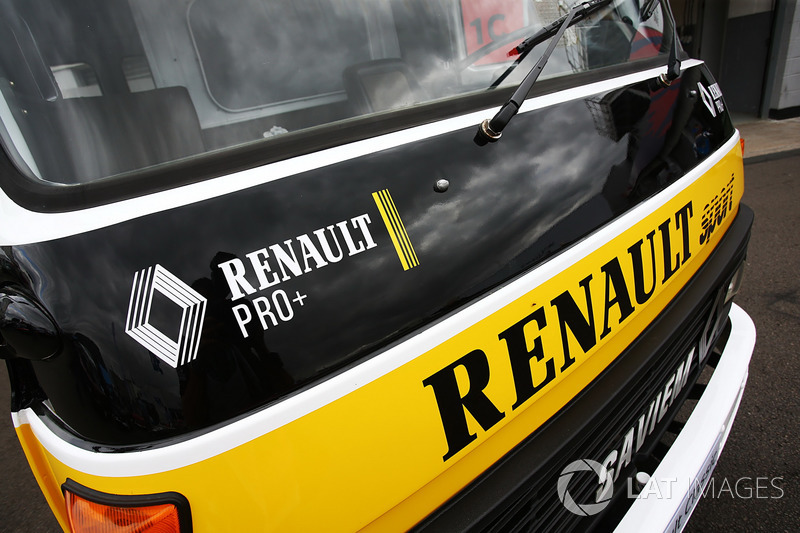 Моторхоум Renault Sport F1 Team F1 Historic
