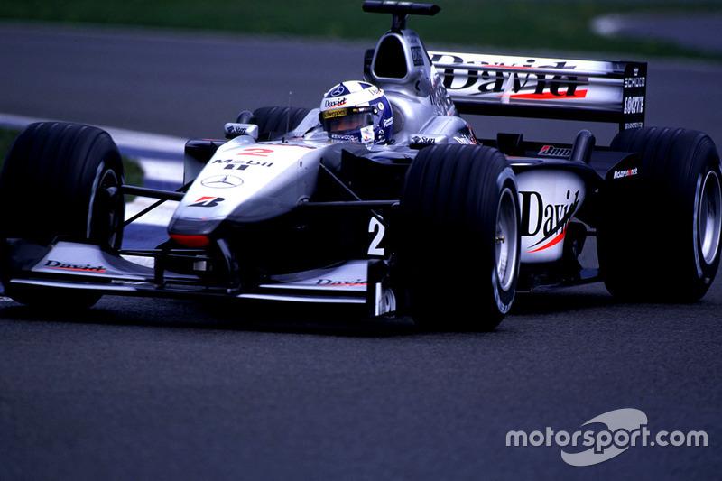2000. McLaren MP4/15 Mercedes