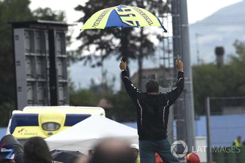 Um fã de Rossi comemorou a queda de Lorenzo.