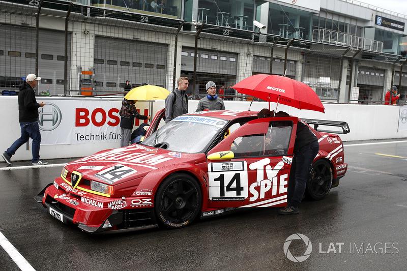 #14 Stephan Rupp, Christian Danner, Alfa Romeo 155 TI V6 ITC