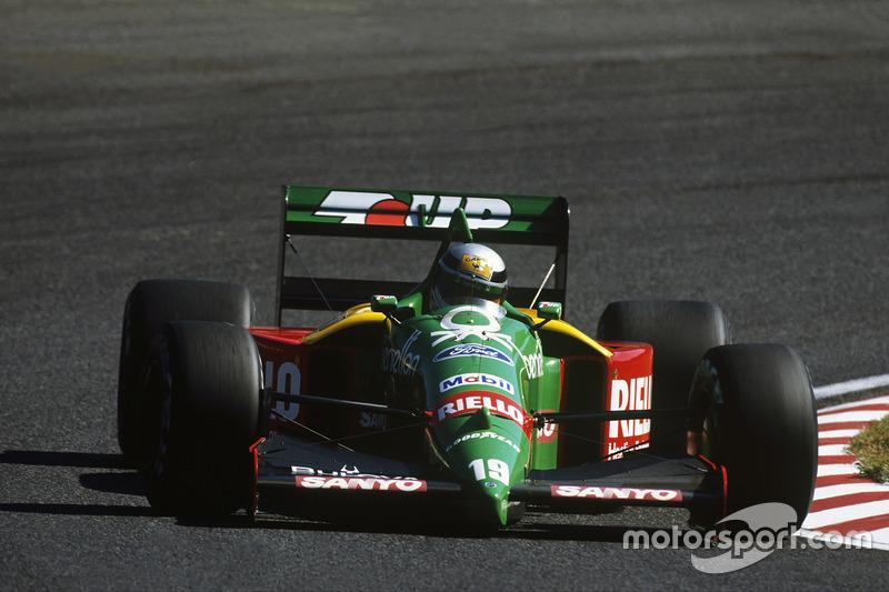 Алессандро Нанніні (Benetton) - Японія, 1989