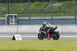 Jonathan Rea, Kawasaki Racing effectue un essai de départ